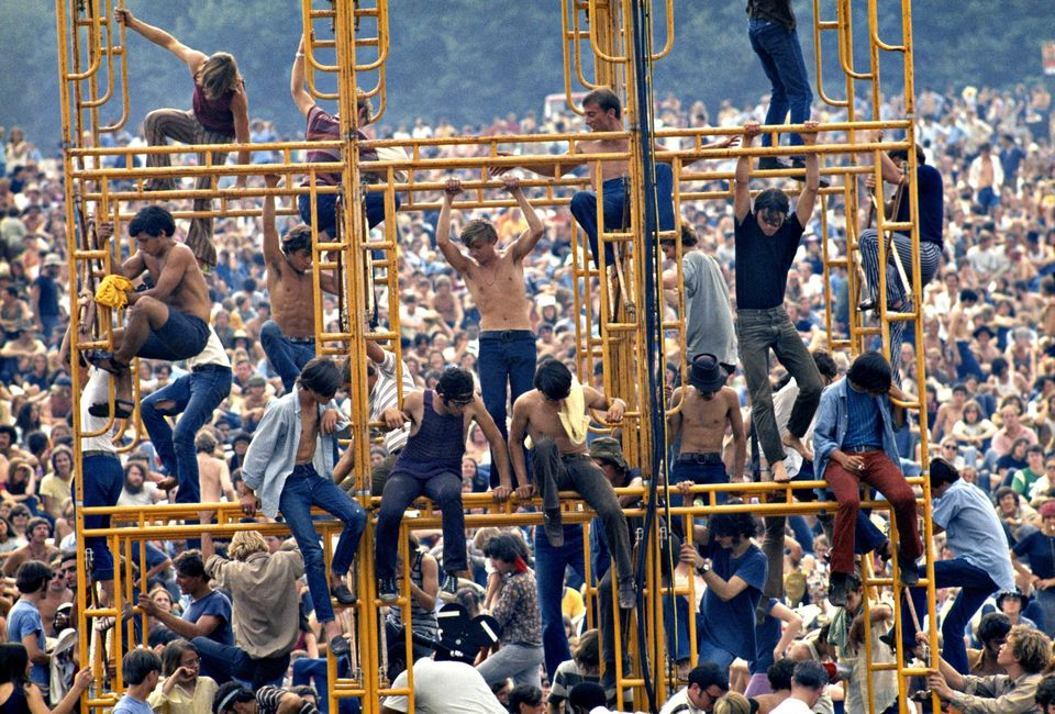 woodstock crowd