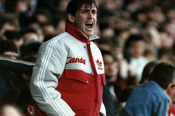 Kenny Dalglish as then Liverpool manager in 1991