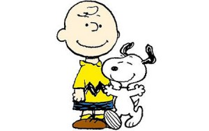 Charlie Brown and Snoopy for Peanuts Vol 1 and 2 from Canongate Books