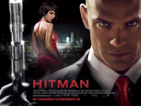 Hitman movie poster UK