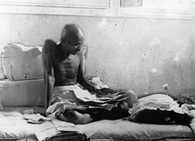 Fasting Gandhi