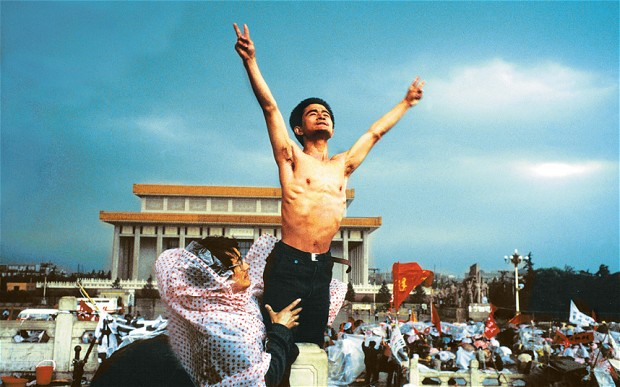 China. Tiananmen Square. 1989.