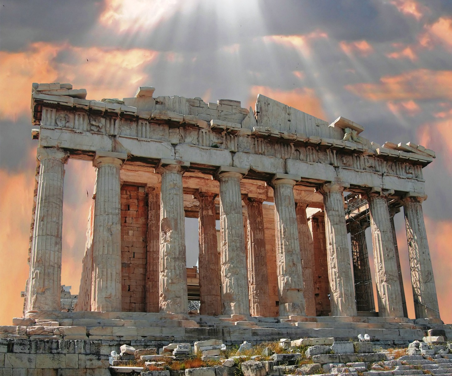 Athens-Parthenon-Ruins-Acropolis-Greece-Tour