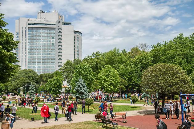 Gezi Park After Protests