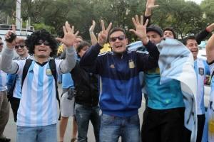 Οι οπαδοί της Αργεντινής δεν έχασαν την ευκαιρία να κάνουν πλάκα σε αυτούς της Βραζιλίας