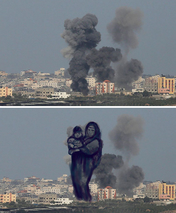 palestine-israel-rocket-strike-smoke-pareidolia-art-2