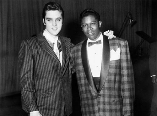 B.B. King και Elvis μαζί.