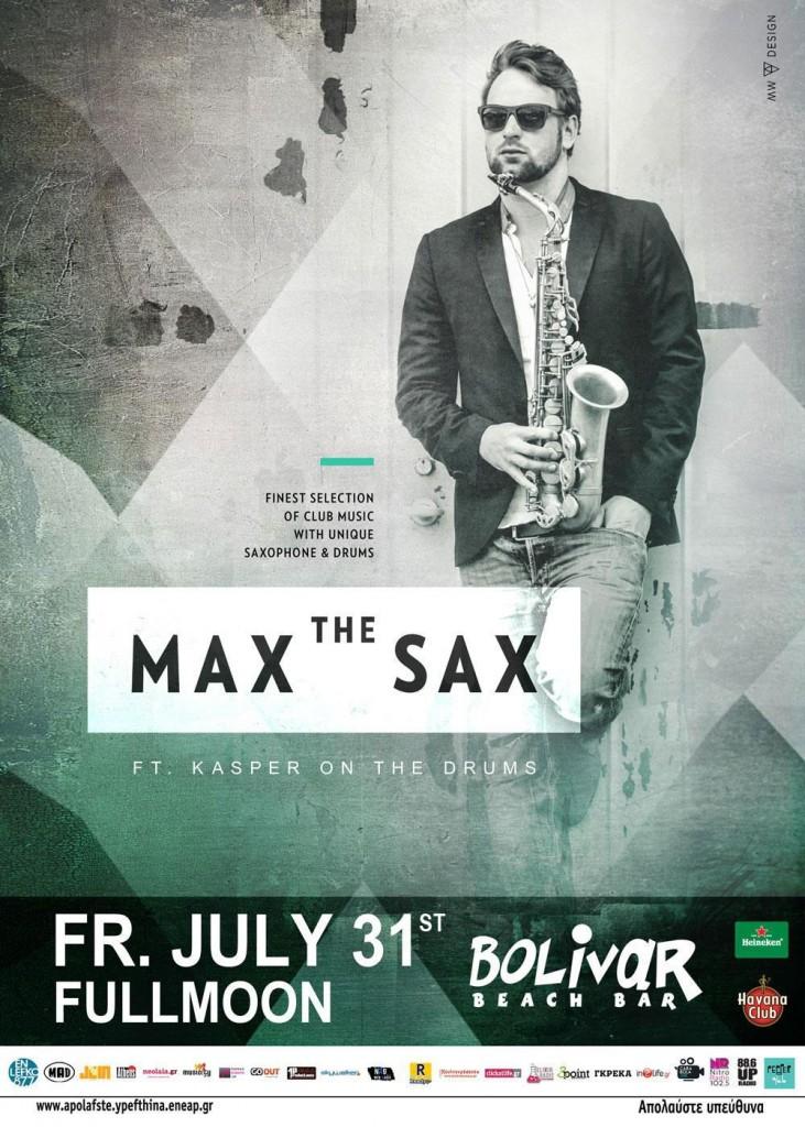 max the sax bolivar
