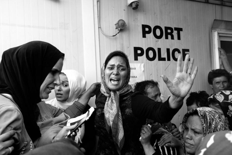 15 - 20 χιλιάδες πρόσφυγες περιμένουν για να κάνουν εγγραφή.