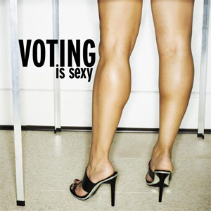 voting is sexy