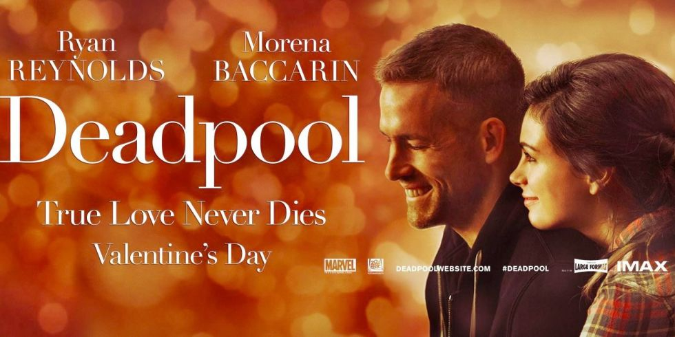 Deadpool Valentines Poster 1