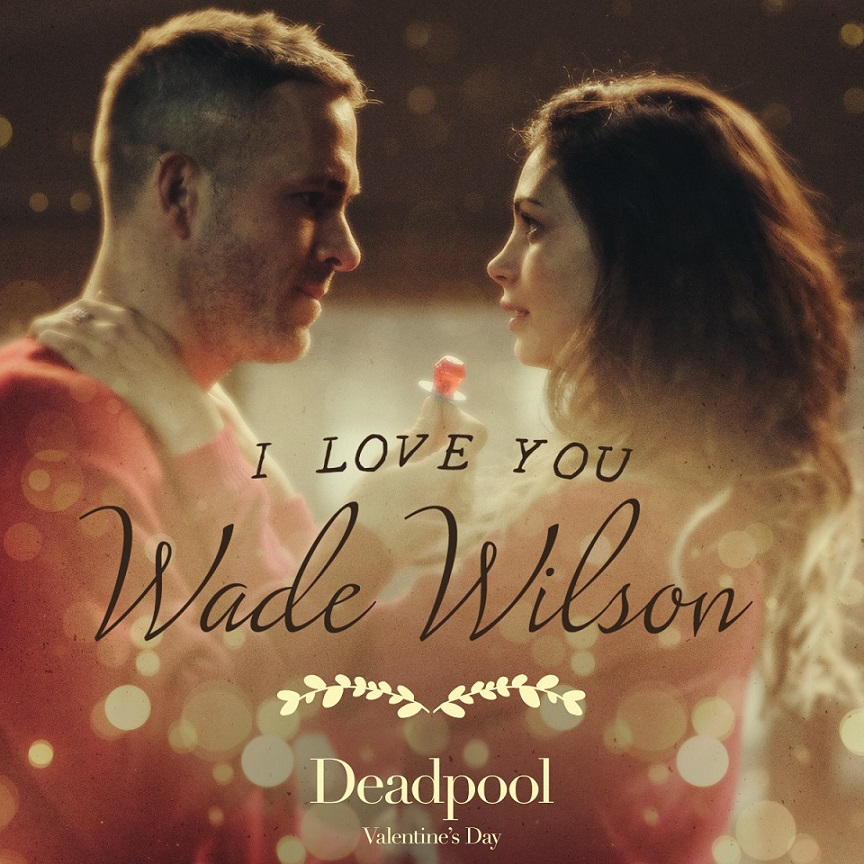 Deadpool Valentines Poster 2