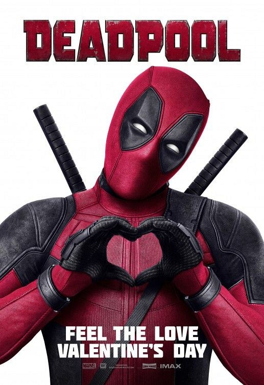 Deadpool Valentines Poster 3