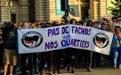 Όχι φασισταριά στις γειτονιές μας.