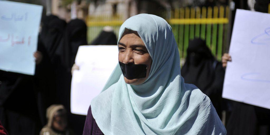 Protest in Yemen