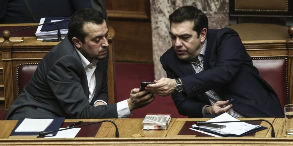Discussion and vote about TV permits on the plenary of the parliament, in Athens, on Feb. 11, 2016 / ???????? ??? ????????? ??? ??? ??????????? ?????? ???? ?????????, ???? 11 ???????????, 2016