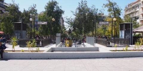 Πλατεία Βικτωρίας έξοδοι ΗΣΑΠ